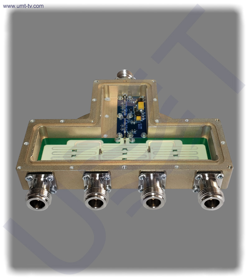 Active l band divider 1 to 4 n with amplifier rear umt llc