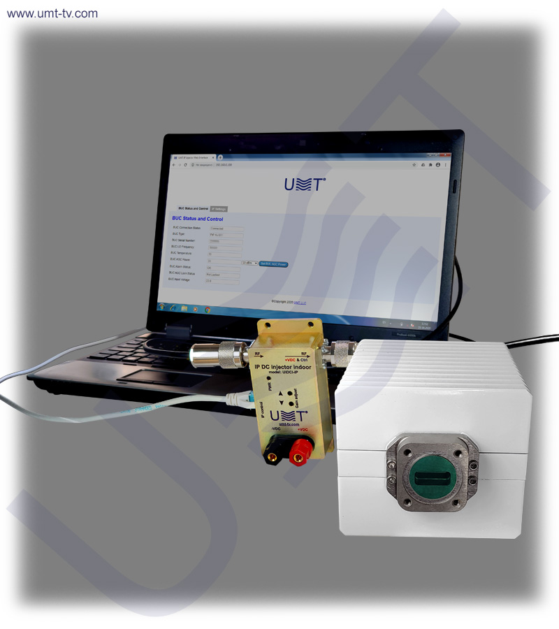 Buc ku band 4 w ip control ghz umt llc