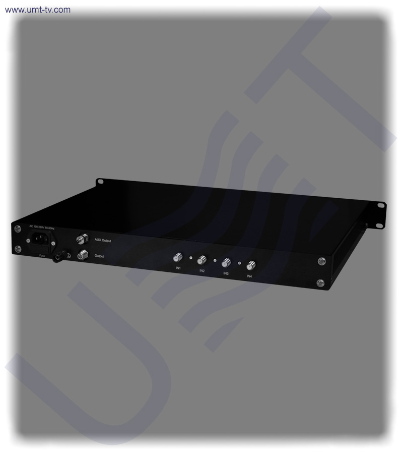 4 channel l band combiner equalizer f type   umt