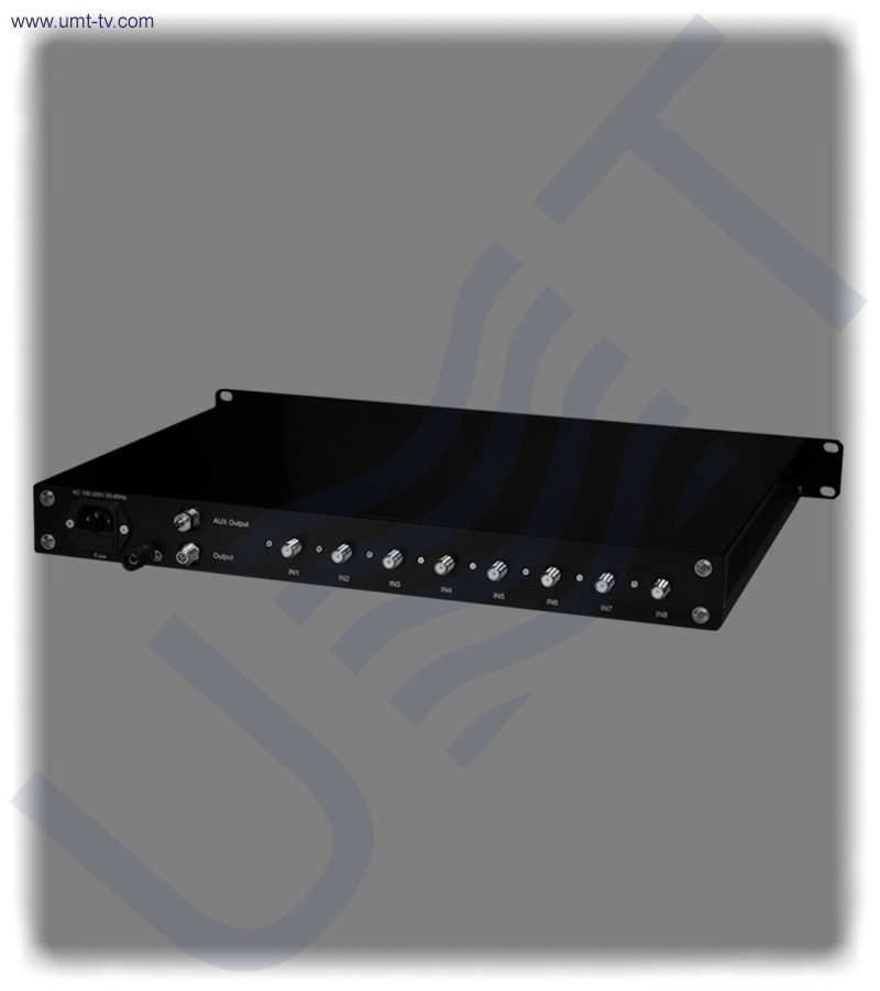 8 channel l band combiner equalizer f type   umt