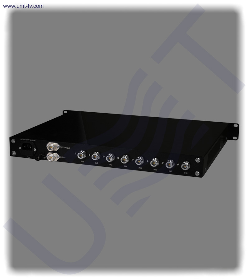 8 channel l band combiner equalizer n type   umt