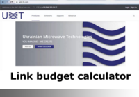Thumb link budget calculator. developed by umt llc