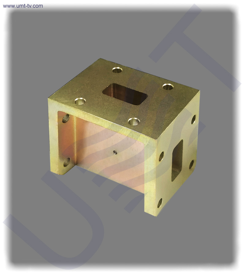 Two way h plane waveguide power divider umt llc
